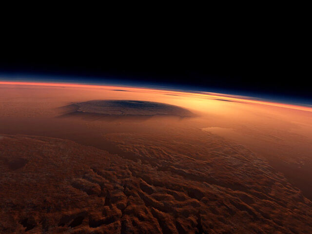 File:Olympus Mons On Mars - The Largest Volcano.jpg