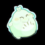 Plump Tofurby Ghost