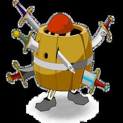 Pirate Barrel