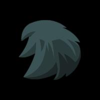 Black Tiwabbit Hair