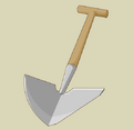 Small Scratchy Shovel