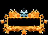 Ornament-Imposing Snowflake