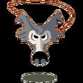 Beautiful Wolf Amulet