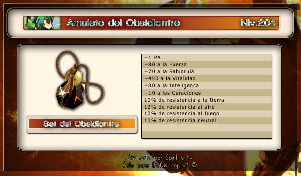 Amuleto obsidiantre