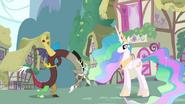 640px-Discord bows to Princess Celestia S03E10