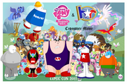 Homestar runner and My little pony crossover