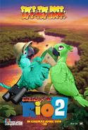 Journeys of Rio 2 (POSTER OPTION 1)