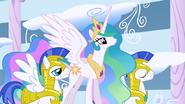 640px-Princess Celestia and guards S1E16