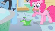 Pinkie Pie introduces Gummy S1E15