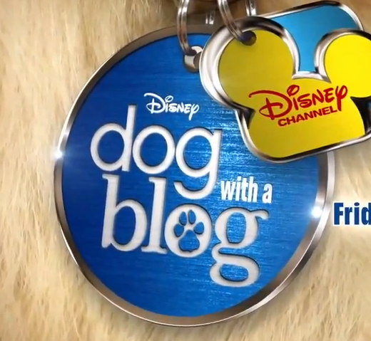 File:Dog with a Blog Logo (Dog Tag).png