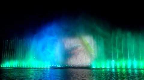 Pokaz fontanny w Parku Szczytnickim we Wrocławiu