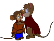 Fievel and Mrs. Brisby (1)