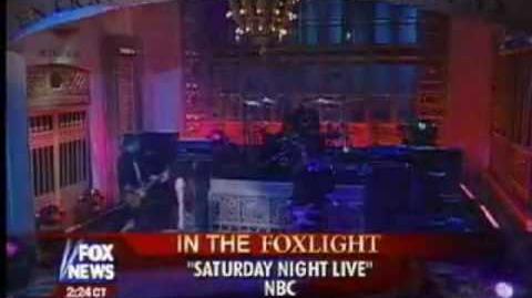 Ashlee Simpson on SNL