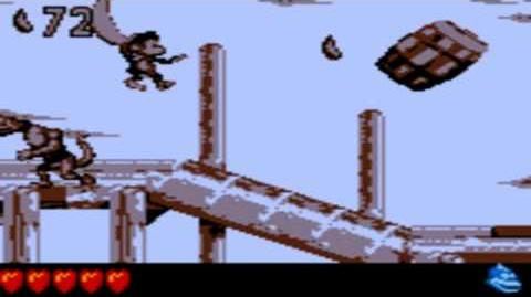 Donkey Kong Land 3 - Red Wharf