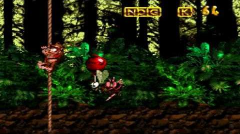 Donkey Kong Country (SNES) - Vine Valley - Forest Frenzy