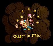 DKC3 Collect Stars