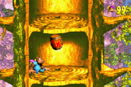 Swoopy Salvo Advance Start - Donkey Kong Country 3