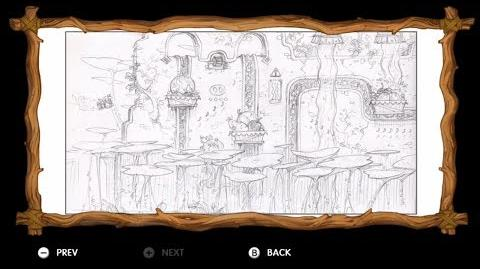Donkey Kong Country Tropical Freeze - Level 5-2 Reckless Ride All Puzzle Pieces KONG Letters