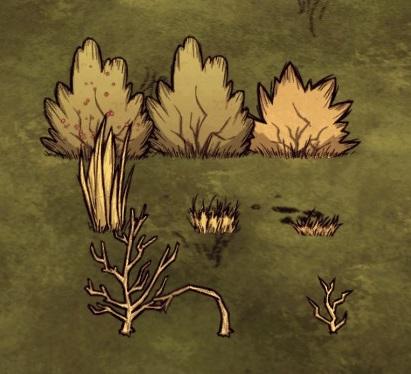 File:Collectable plants (Berry Bush, Grass, Sapling).png