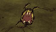 Warrior Spider Leap attack