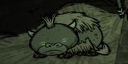 Baby Beefalo sleeping