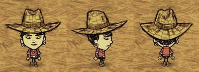Straw Hat Walani