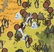 Mini glaciers map