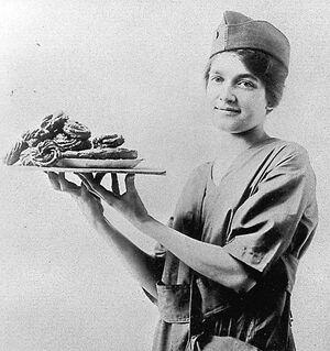 WWI Doughnut Girl1