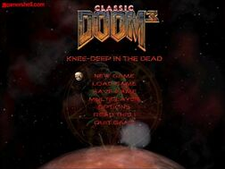 Classic Doom 3 Man Menu