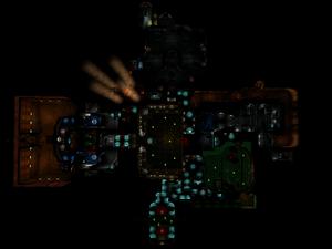 Classic Doom E1M5 Overhead