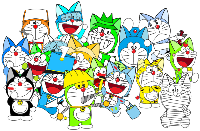 File:All of my oc doraemon.png