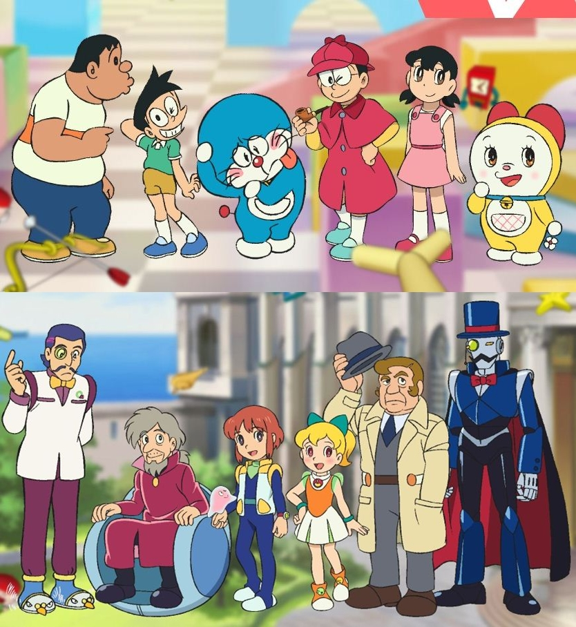 Doraemon Real: Doraemon Characters Pictures And Names
