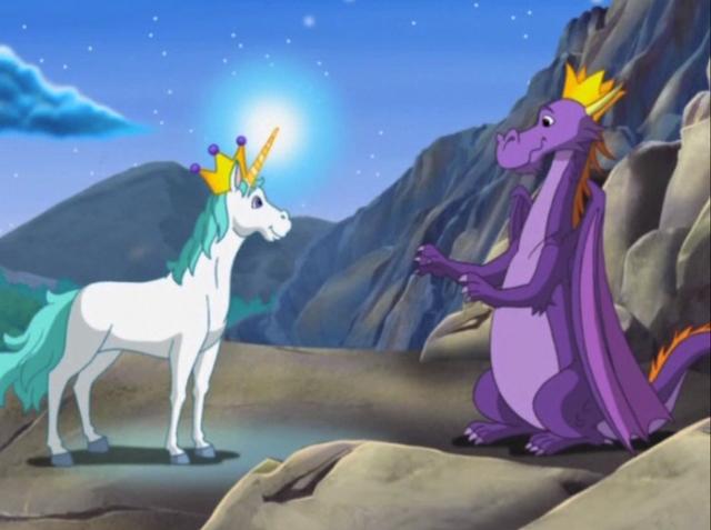 File:King Unicornio and Dragon King.png