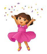 Dora pink dress 2