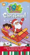 Dora-explorer-doras-christmas-esai-morales-vhs-cover-art