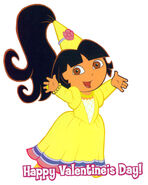 Dora Princess gown