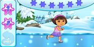 Dora-ice-skating-game