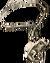 Neck ogre bone pendant