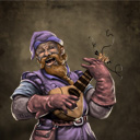 Screeching dwarven bard