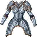 Chest man at arms f
