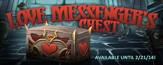 Scroller love messengers chest