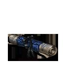 Genevieves scroll blue