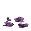 Crushed deathbloom petals