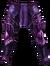 Pants violet knight