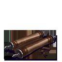 Scroll of caracalla brown