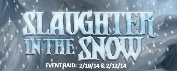 Scroller slaughter in the snow v3