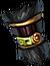 Gloves black monkey warrior
