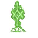 Nord shamans rune green