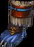 Boots blue jaguar warrior