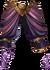 Pants purple lion